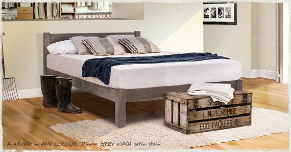 White Knight Space Saver Wooden Bed Frame By Get Laid Beds