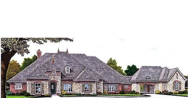 European Style House Plan 3 Beds 3 5 Baths 3214 Sq Ft Plan 310 685 French Country House Plans French Country House New House Plans