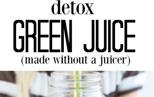 Daily Detox Juice | Recipe | Celery, Cilantro and Stems