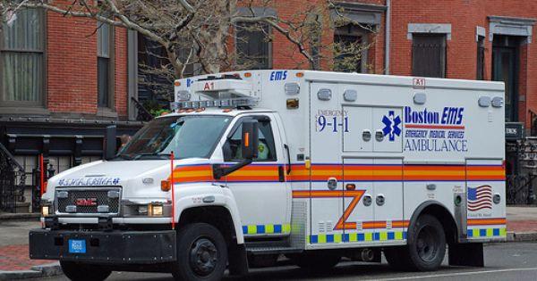 Boston Ma Ems Ambulance Boston Ems Ems Ambulance Rescue Vehicles