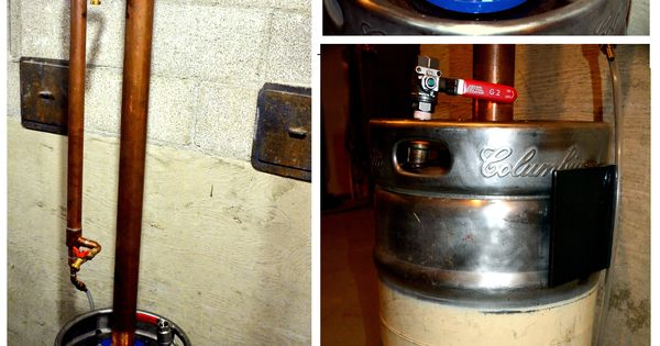 how to build a beer keg reflux still