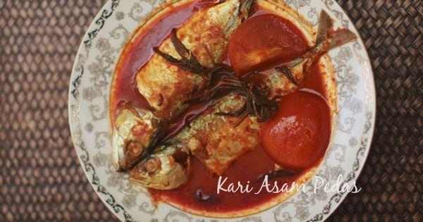 Kari Asam Pedas Ikan Kembung Masam Manis Makanan Resep Masakan Resep Masakan Indonesia