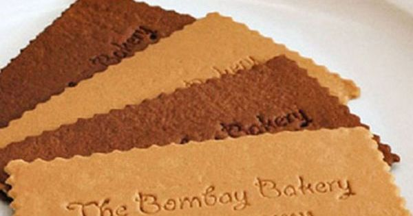 Super creative! Business cards for bakeries. :D