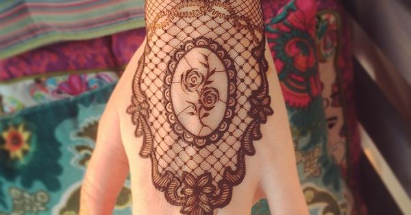 Instagram analytics gloves lace and henna for Lace glove tattoo