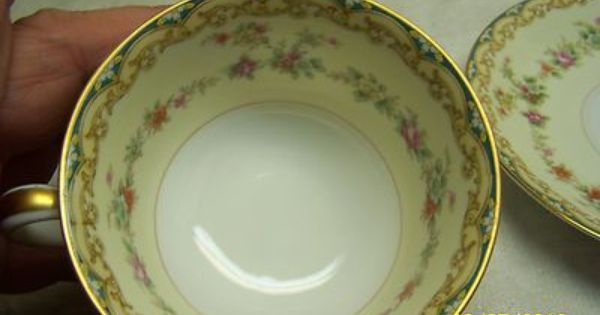 Noritake China Porcelain Quot Octavia Quot Pattern 4035 Small Bowl