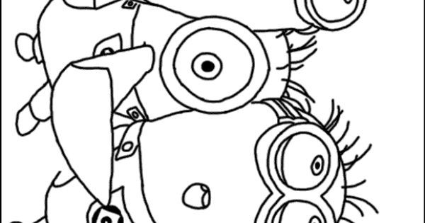 purple minion coloring pages - purple minions coloring pages the image