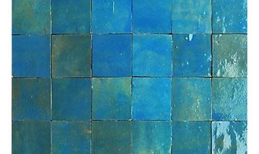 Mosaique Mur Zellige Lazuli 5 X 5 Cm Carreaux Salle De Bain Zellige Zellige Salle De Bain