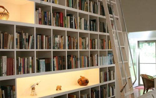 Living Room Built In Bookcase Design, Pictures, Remodel, Decor and Ideas -