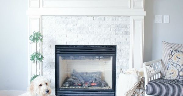Fireplace Makeover Before Amp After Planked Walls