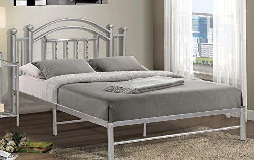 Gabriel Chrome Full Bed Expert Guide Bedroom Furniture Bed Furniture Upholstered Platform Bed