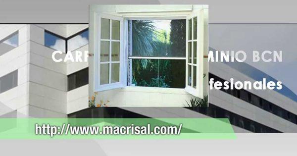 Carpinteria aluminio ventanas de aluminios macrisa - Ventanas de aluminio en barcelona ...