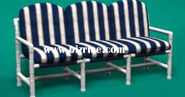 pvc patio furniture diy 2