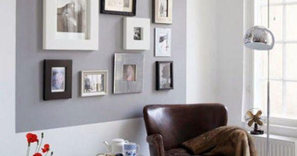 D co murale comment accrocher les cadres au mur pi ces for Comment accrocher des photos au mur