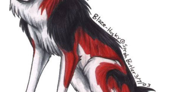 red anime wolves red white and black she wolf anime wolves