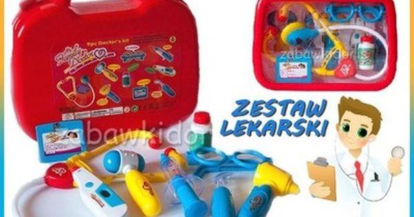 Maly Doktor Zestaw Lekarski Lekarz Na Baterie 5918092929 Oficjalne Archiwum Allegro Lunch Box