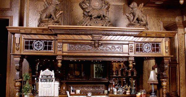 Irish Pub Man Cave Ideas : Man cave irish beautiful bar maybe changing the statues