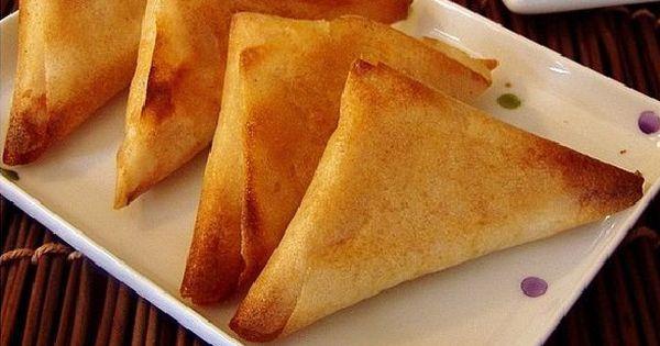 Recette triangles au fromage (Samsa jben) de la cuisine ...