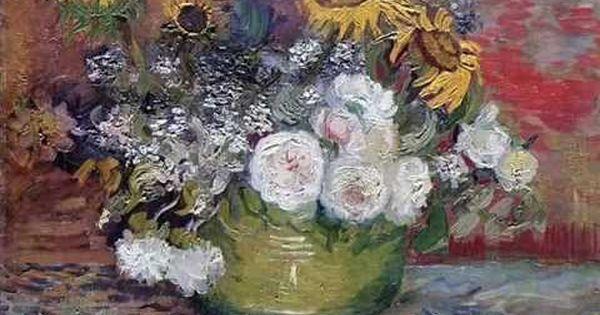 Krzysztof Kolberger Kochalem Pania Zmeczony Burz Szalenstwem Van Gogh Blumen Van Gogh Gemalde Sonnenblume Kunst