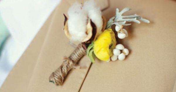 cotton, ranunculus, dusty miller, and snowberry bouquet | Courtney Dellafiora #wedding