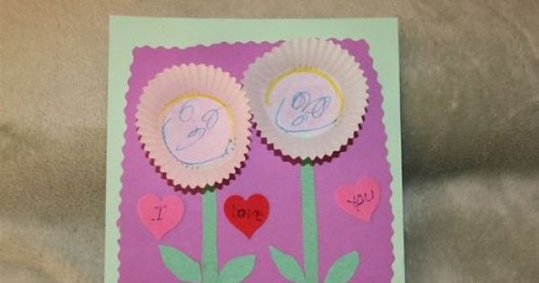 valentines day cards eyfs