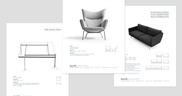 Suite new york gianesini design catalog inspiration for Furniture brochure design inspiration
