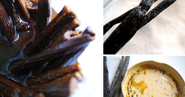 make vanilla extract. vanilla beans+vodka+time | Delicious | Pinterest ...