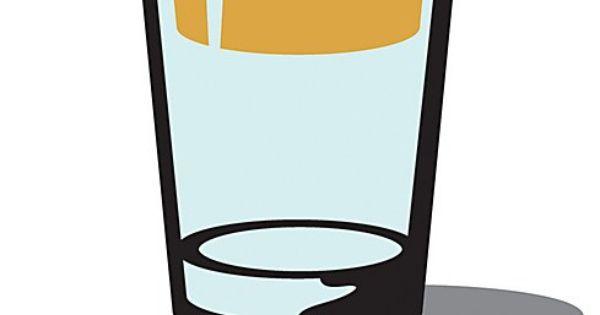 Optimistic Beverages graphic design print
