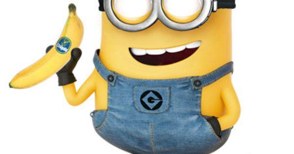 ミニオン ボブ と バナナのイラスト   ミニオン