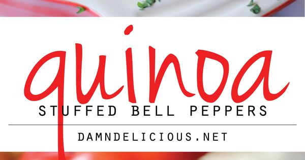 Quinoa Stuffed Bell Peppers - These stuffed bell peppers will provide the