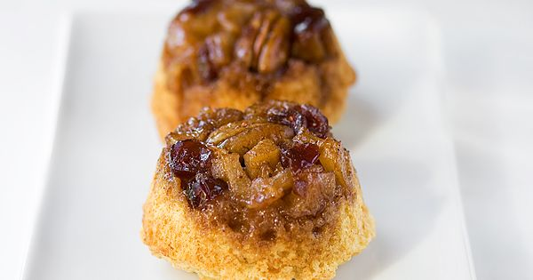 Pear and Cranberry Upside Down Muffins | Recipe | Pears, Cranberries ...
