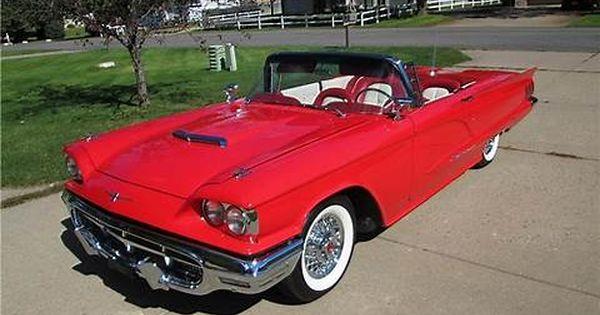 Bildresultat For 1960 Ford Thunderbird
