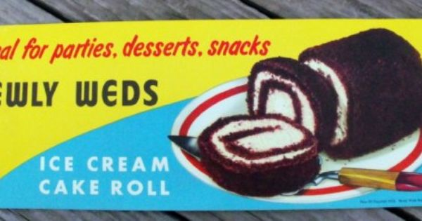 Buy Newlywed Ice Cream Cake Roll