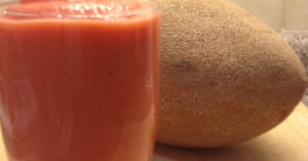 mamey fruit are fruit smoothies healthy