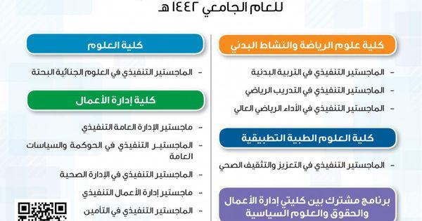 برامج الماجستير بنظام التعليم المستمر و الماجستير التنفيذي عمادة الدراسات العليا University