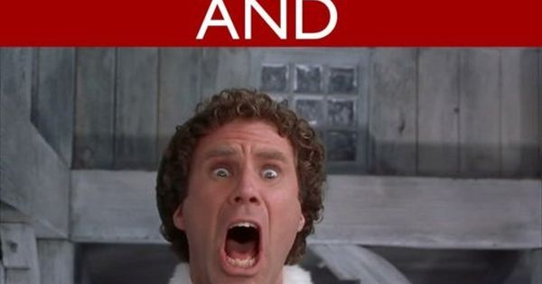 Buddy the Elf :) Only movie I like with Will Ferrell.