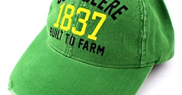 John Deere Toddler Youth Baseball Cap Hat (Green Built to Farm) John Deere   yankeetoybox  johndeere Kids  a676f57e2f5a