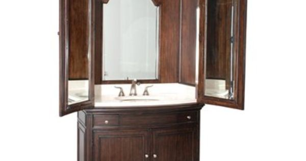 Ambella Home 08911 120 301 Verona Sink Armoire Bathroom Sink Vanity Home Unique Bathroom