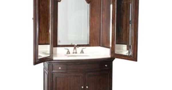 Ambella Home 08911 120 301 Verona Sink Armoire Bathroom Sink Vanity Home Unique Bathroom