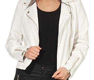 Malito Femme Simili Cuir Veste Sakko Blazer Faux Leather 5177