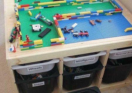 Créez la table LEGO dont rêvent vos enfants. | 31 détournements incroyables