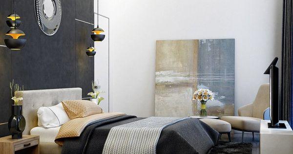Décoration chambre adulte - textures, art et luminaires  Art, Design ...