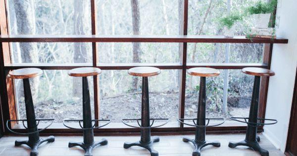 Fixer Upper Season 2 Episode 9 The Mid Century Modern Home Modern Bar Stools Kitchen Modern Kitchen Bar Mid Century Modern House