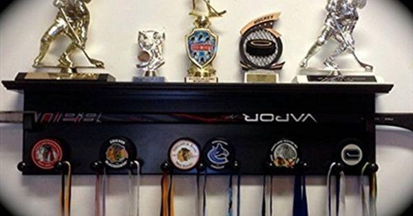 Hockey Trophy Award Display Shelf Various Colors Award Display Hockey Trophies Trophy Display