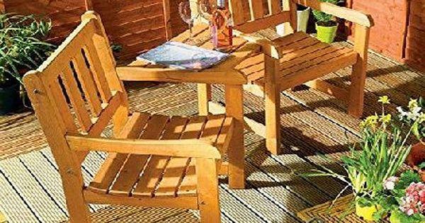 Jack And Jill Companion Garden Bench