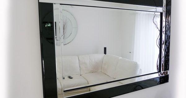 Marcos para espejos ideas para el hogar pinterest for Espejos modernos cristal