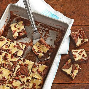 Cream Cheese Marbled Brownies Fall Baking Recipes Baking Recipes Brownie Recipes