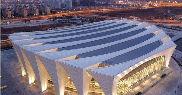 Exterior: Shanghai Oriental Sports Centre Indoor Stadium(c