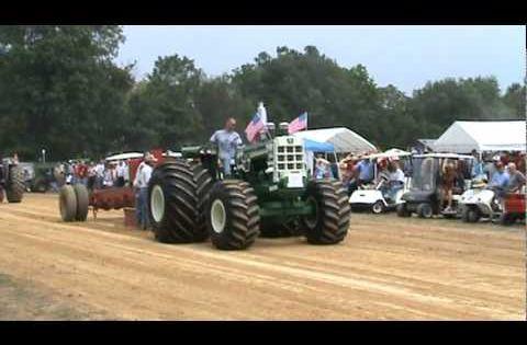 Oliver 1950 4x4 : Oliver detroit diesel tractor pull el toro full