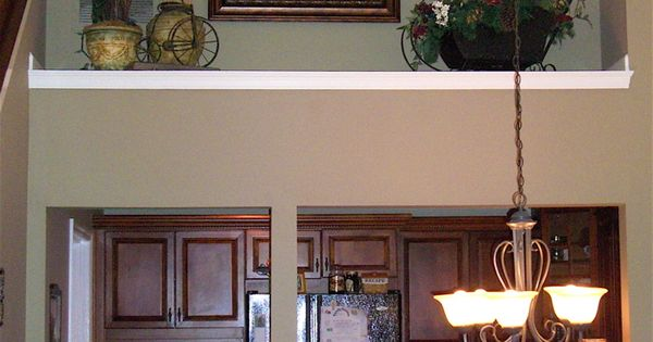 Living Room Ledge Or Shelf Decorating.