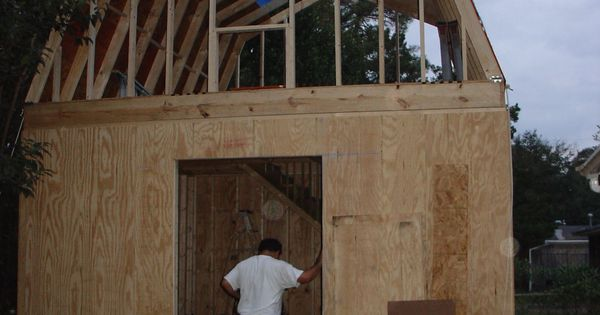 how to build a two story shed with a lot of help 2 story shed plans free youtube